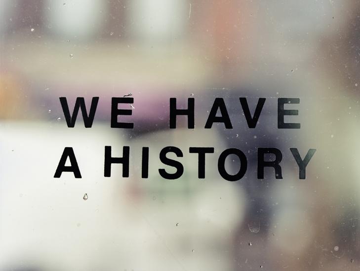 04 we have a history n i h i l s e n t i m e n t a l g i a