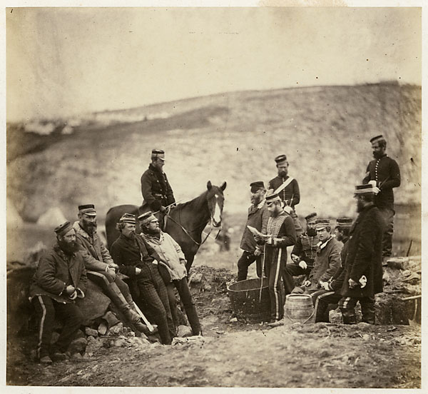 officers and men of the 8th hussars