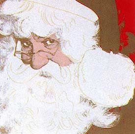 andy-warhol-santa-claus-1981-FS-II.266
