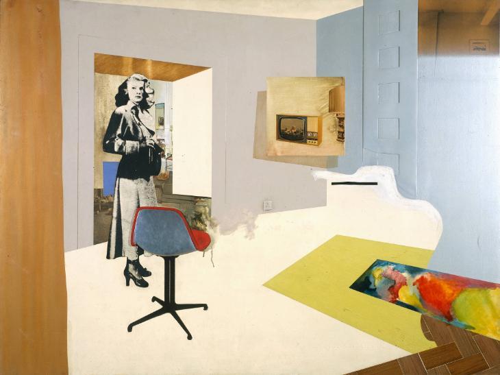 Interior II 1964 by Richard Hamilton 1922-2011