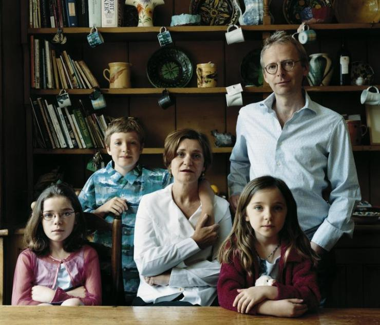 The Lingwood & Hamlyn family, London, UK, 2001