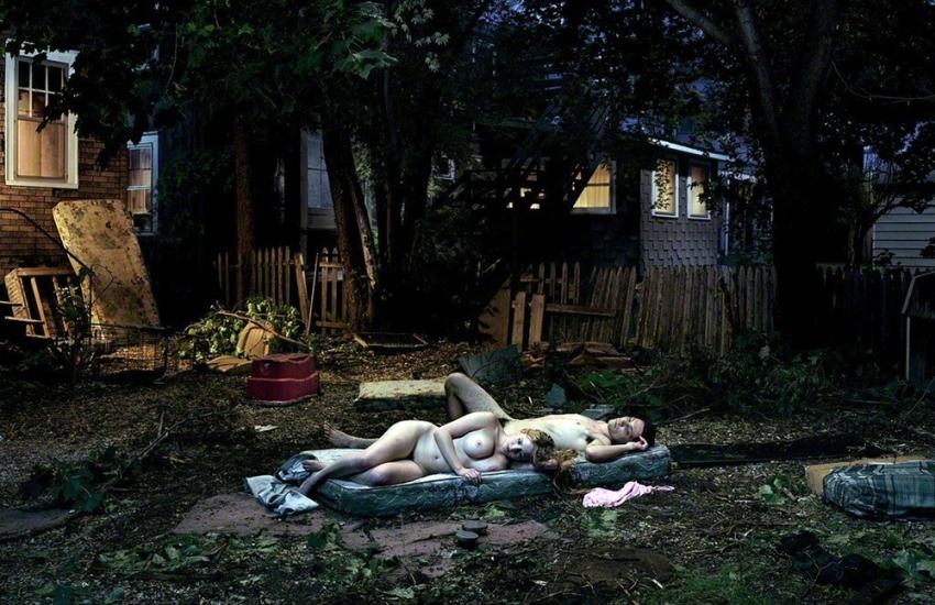 Untitiled (Back Yard Romance), 2004