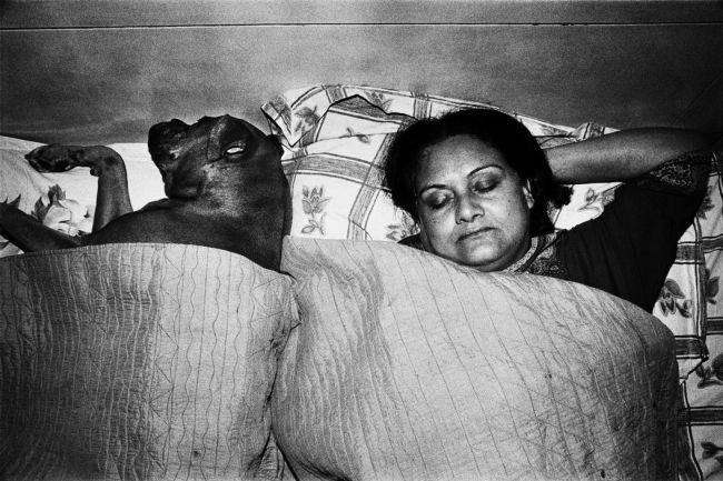 India. 2009. Ma and Elsa sleeping