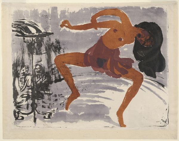 Nolde_Dancer_19131