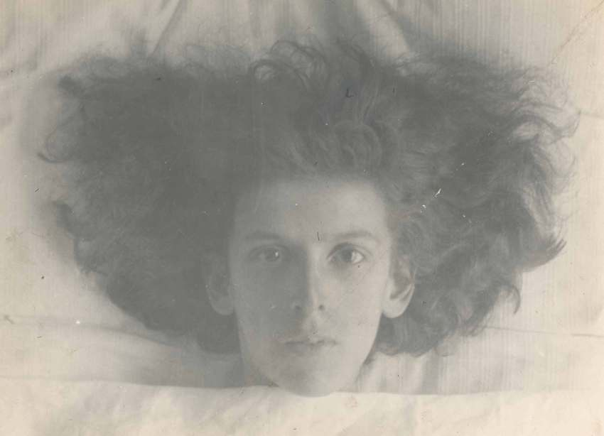 © Claude Cahun, Self-portrait, 1914.