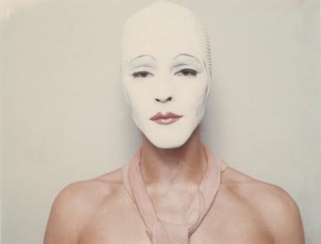 © Ulay, 'White Mask', 1973-1974.