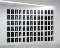 Ricardo Pistola, 'Iteration #1', serigrafia a grafite @ Centro de Artes, Sines.