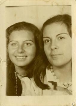 Mum (b. 1953) and Lena (1953-2018)