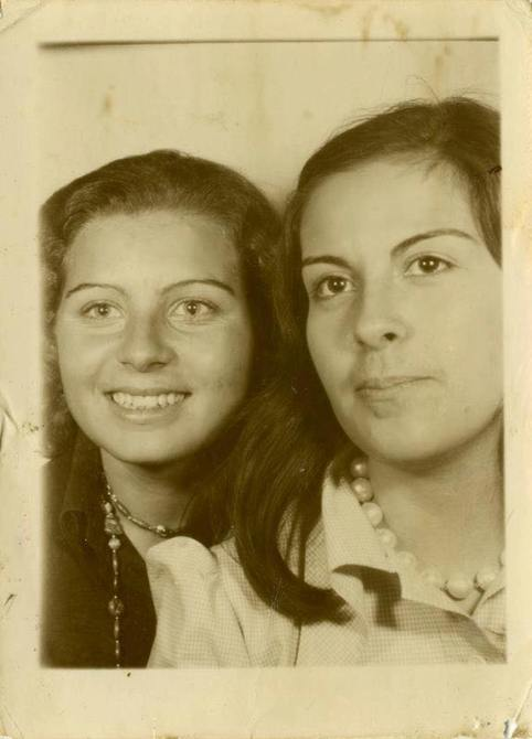Mum (b. 1953) and Lena (1953-2018)