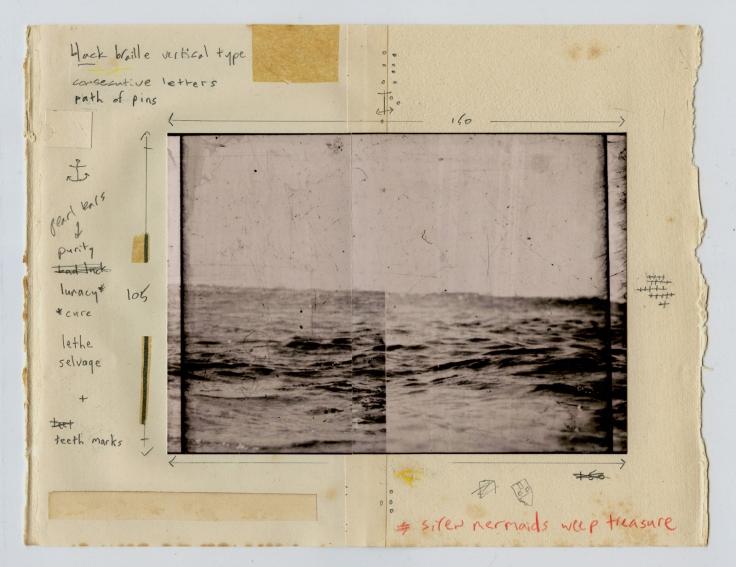© Robin Cracknell, 'Sea Notes'.